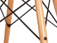 Bild von Stuhl-Design DAW Eames Stuhl -Grau beige