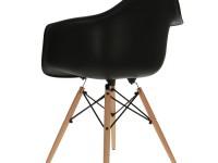 Bild von Stuhl-Design DAW Eames Stuhl - Schwarz