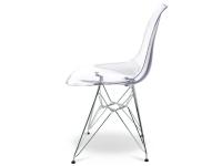 Bild von Stuhl-Design DSR Eames Stuhl - Durchsichtig