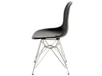 Bild von Stuhl-Design DSR Eames Stuhl - Schwarz Glänzend