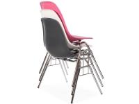 Bild von Stuhl-Design DSS Eames Stuhl Stapelbar - Mausgrau