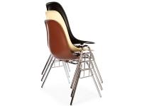 Bild von Stuhl-Design DSS Eames Stuhl Stapelbar - Weiß