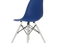 Bild von Stuhl-Design Eames DSW Stuhl - Dunkelblau