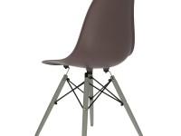 Bild von Stuhl-Design Eames DSW Stuhl - Dunkelbraun