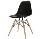 Bild von Stuhl-Design Eames DSW Stuhl - Schwarz