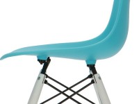 Bild von Stuhl-Design Eames DSW Stuhl - Türkis