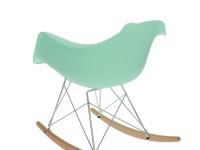 Bild von Stuhl-Design Eames Rocking Chair RAR - Minzgrün