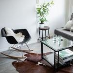 Bild von Stuhl-Design Eames Rocking Chair RAR - Schwarz