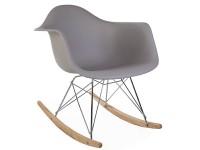 Bild von Stuhl-Design Eames Schaukelstuhl RAR - Mausgrau