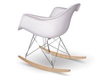 Bild von Stuhl-Design Eames Schaukelstuhl RAR - Weiß