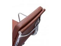 Bild von Stuhl-Design Eames Soft Pad EA219 - Cognac