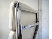 Bild von Stuhl-Design Eames Soft Pad EA219 - Elfenbeinweiß