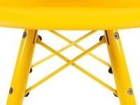 Bild von Stuhl-Design Kinder Stuhl Eames DAW Color - Gelb