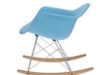 Bild von Stuhl-Design Rocking chair Cosy - Hellblau