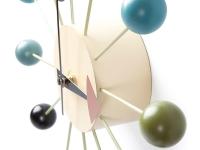 Bild von Stuhl-Design Wanduhr Ball - George Nelson