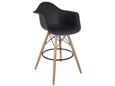 Bild von Stuhl-Design Barstuhl DAB - Anthrazit