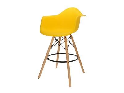 Bild von Stuhl-Design Barstuhl DAB - Gelb