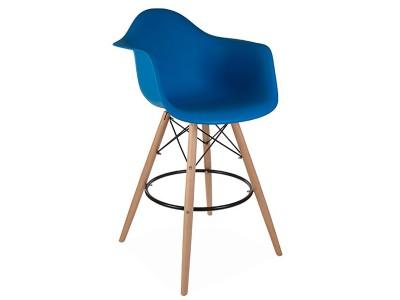Bild von Stuhl-Design Barstuhl DAB - Meerblau