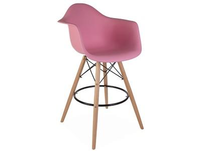 Bild von Stuhl-Design Barstuhl DAB - Rosa