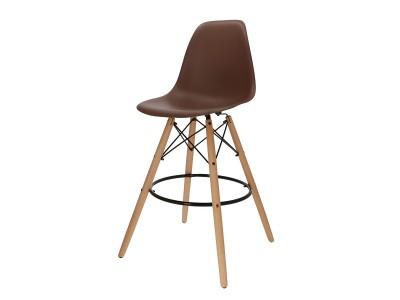 Bild von Stuhl-Design Barstuhl DSB - Braun
