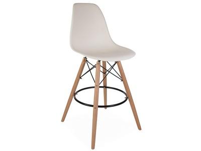 Bild von Stuhl-Design Barstuhl DSB - Creme