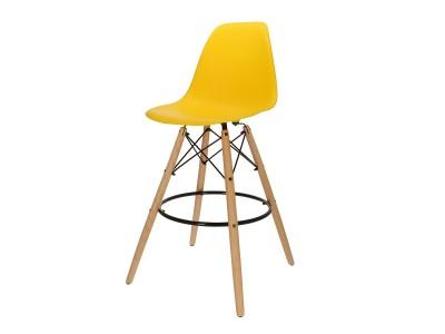 Bild von Stuhl-Design Barstuhl DSB - Gelb