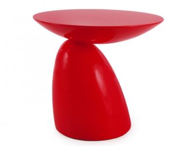Bild von Stuhl-Design Beistelltisch Parabol - Rot