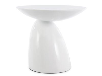 Bild von Stuhl-Design Beistelltisch Parabol - Weiß