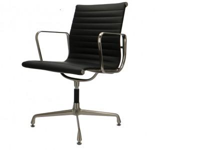 Bild von Stuhl-Design Besucherstuhl EA108 Premium - Schwarz