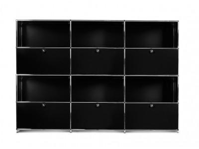 Bild von Stuhl-Design Büromöbel - AMC43-01 Schwarz