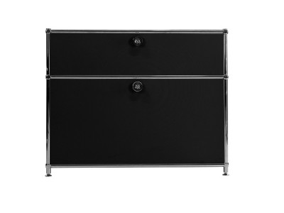 Bild von Stuhl-Design Büromöbel - AMFP201 Schwarz