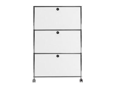 Bild von Stuhl-Design Büromöbel - AMMC301 Weiß