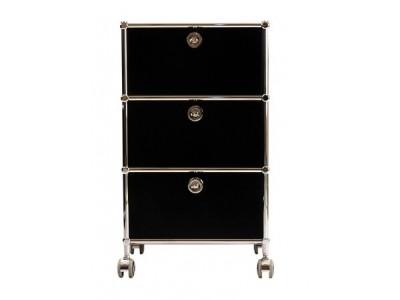 Bild von Stuhl-Design Büromöbel - AMMP301 Schwarz