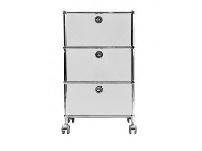 Bild von Stuhl-Design Büromöbel - AMMP301 Weiß