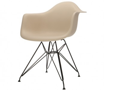 Bild von Stuhl-Design DAR Stuhl - Grau beige