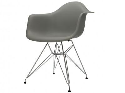 Bild von Stuhl-Design DAR Stuhl - Grau