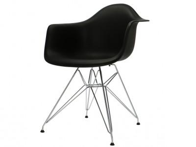 Bild von Stuhl-Design DAR Stuhl - Schwarz