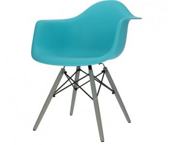 Bild von Stuhl-Design DAW Eames Stuhl - Türkis