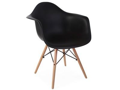 Bild von Stuhl-Design DAW Stuhl - Schwarz