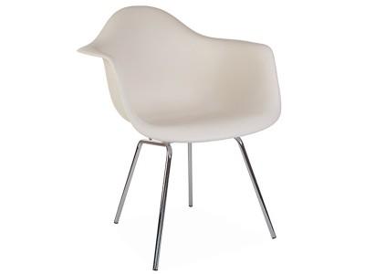 Bild von Stuhl-Design DAX Stuhl - Creme