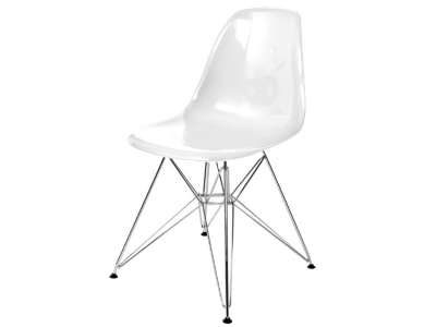 Bild von Stuhl-Design DSR Stuhl - Weiß Glänzend