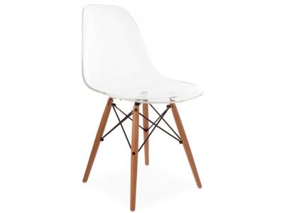 Bild von Stuhl-Design DSW Stuhl - Durchsichtig
