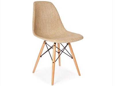 Bild von Stuhl-Design DSW Stuhl Textur - Beige