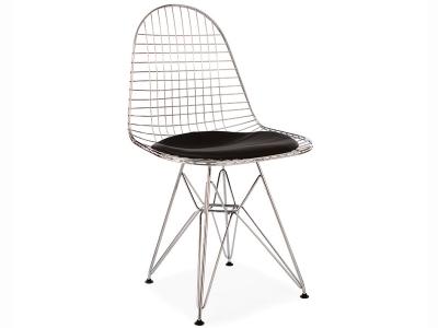 Bild von Stuhl-Design Eames DKR Stuhl - Schwarz