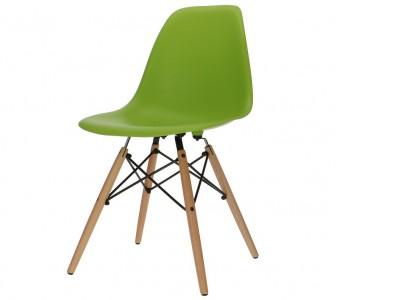 Bild von Stuhl-Design Eames DSW Stuhl - Apfelgrün