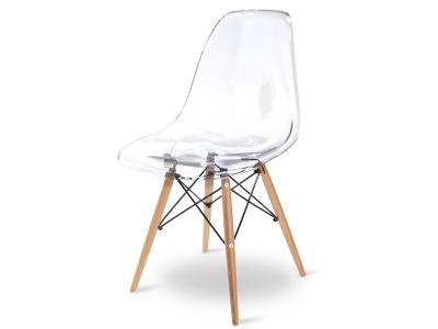 """Bild von Stuhl-Design Eames DSW Stuhl - Durchsichtig (""""Ghost DSW"""")"""