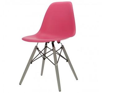 Bild von Stuhl-Design Eames DSW Stuhl - Rosa