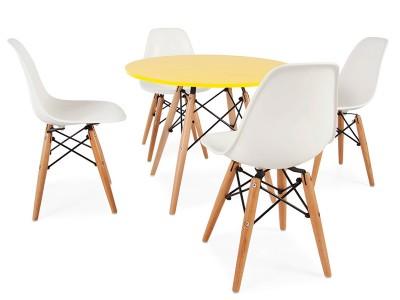 Bild Von Stuhl Design Eames Kinder Tisch   4 DSW Stühle