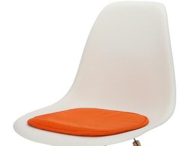 Bild von Stuhl-Design Eames Kissen - Orange