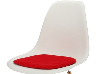 Bild von Stuhl-Design Eames Kissen - Rot